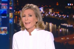 tf1 claire chazal protection civile